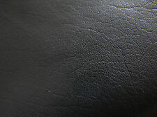 Black leather goat hide goatskin 7.3 sq. ft. for bookbinding & other crafts E15