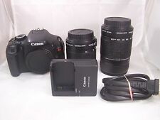 CANON REBEL T3i / EOS 600D DIGITAL CAMERA Bundle