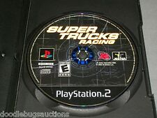SUPER TRUCKS RACING Playstation 2 PS2 System Black Label Video Game