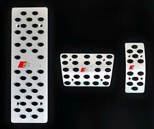 For Audi Q5 B8 A4 A5 A6 A8 Auto ALUMINUM Pedal Set Sline Pedal Set 3 Pcs