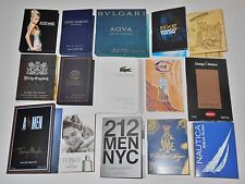 15 Mens Designer Cologne Samples Lot Amen D&G Bvlgari Lacoste Cavalli Versace CK