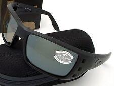 Costa Del Mar Permit Blackout & Silver Mirror Glass 580 NEW 580G