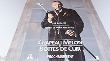 CHAPEAU MELON ET BOTTES DE CUIR  !  john steed sir august 2 affiches cinema