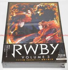 New RWBY Volume 3 First Limited Edition 2 Blu-ray 2 CD Booklet Japan 1000627047