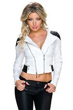 Belle Veste Courte Femme  / Noire et Blanche / NEUF / Taille : M / Woman Jacket
