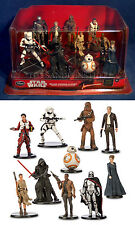 NEW Star Wars THE FORCE AWAKENS Deluxe Figurine Playset 10 Figures BB-8 Rey POE