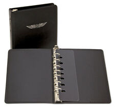 """Deluxe 1"""" 7-Ring Binder by ASA - For Jeppesen Approach Plates - ASA-AP-BD-DL1"""