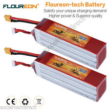 2x 8000mAh 6S 35C 22.2V RC Lipo Battery XT90 for RC Helicopter Airplane RC Hobby