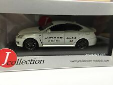 LEXUS IS-F Nurburing Taxi Jarno Trulli Version J COLLECTION 1:43 DIECAST JCL101
