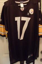 Reebok On Field Mike Wallace Pittsburgh Steelers Jersey