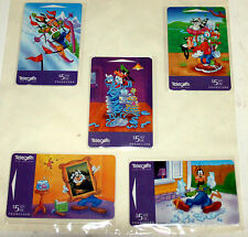 DISNEY NEW ZEALAND TELECOM PHONE CARD - FRIENDS OF MICKEY PART I GOOFY  MINT