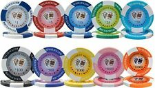 NEW 600 PC Tournament Pro 11.5 Gram Clay Poker Chips Bulk Lot Pick Your Chips