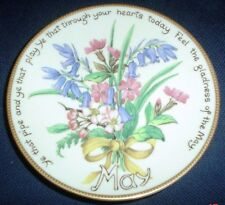 Davenport Limited Edition MAY Collectors Plate Edith Holden