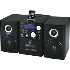 Supersonic SC805 Portable MP3/CD Player w/30-Pin iPod Dock, Cassette Recorder