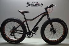 Fat bike / mtb fat bike / mtb fat bike 26 / fat nera 8v / fat bike in alluminio