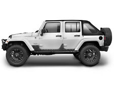 Smittybilt XRC Armor Steel Body Cladding 2007-2017 4dr Jeep Wrangler JK 4 door 7