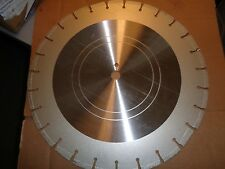 "NEW 20"" DIAMOND CONCRETE SEGMENTED SAW BLADE UNKNOWN BRAND"