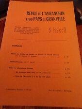 Revue de l'Avranchin et du Pays de Granville N° 315 Mortain Challemel Lacour