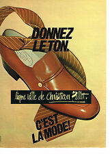 PUBLICITE ADVERTISING 034 1979 CHRISTIAN PELLET chaussures homme          070314