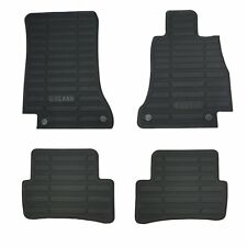 Genuine Hitech Mercedes C Class W205/S205 Fully Tailored Rubber Mats 2015-