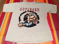 GOTTHARD official French Tour 98, support of DEEP PURPLE, size L, rock t shirt