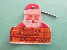 Father Adelaide Christmas Santa Badge