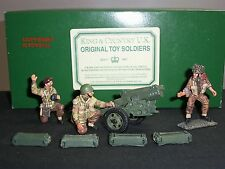 KING AND COUNTRY AN04 ARNHEM THE GUNNERS METAL TOY SOLDIER FIGURE SET