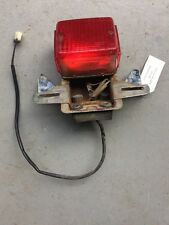 1979 Yamaha XS1100 Special XS Eleven Y477. rear tail brake light and bracket mou