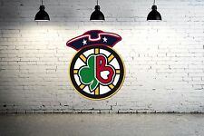 Boston Sports Logos Combined wall decal Large 24 inch Celtics, patriots, bruins