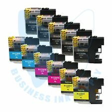 11 PK LC203XL LC201 compatible Ink Cartridges for Brother printers with NEW CHIP