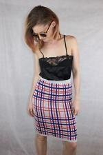 MINKPINK Mink Pink WESTWOOD Punk KNITTED PLAID CHECK SKIRT New $70 S / 10