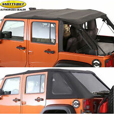 Smittybilt Combo Bow Top Windsheild Channel for 07-16 Jeep Wrangler JK Unlimited