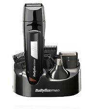 Babyliss Men Grooming Kit Cordless Body Hair Clipper Beard Trimmer Rechargeable