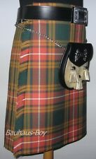 "HANDMADE 6YARD ANCIENT BUCHANAN TARTAN KILT size 40""- 42"" MADE IN SCOTLAND KILTS"