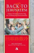 Back to Jerusalem von Paul Hattaway - Gebraucht