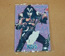 KISS Genne Simmons METAL CARD SEALED COLLECTIBLE RARE TOY ARGENTINA