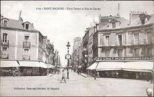 St NAZAIRE (44) - Place Carnot et Rue de Nantes