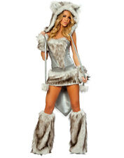COSTUME DE SHE-WOLF WOLF WOLF HALLOWEEN CARNIVAL SIZE M (36-38) LINGERIE SEXY