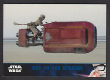 Topps Star Wars - The Force Awakens Series 2 - Blue Parallel Card # 23