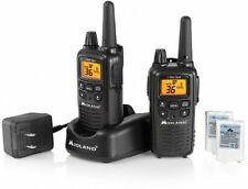 Midland Walkie Talkie Two-Way Radio GMRS 30-Mile Range Waterproof Dual 2 Pieces