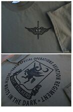 160th NIGHT STALKERS Spec OPS Aviation T-Shirt Ultra Cotton LARGE