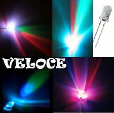 10 led 5 mm RGB multicolore FLASH VELOCE alta luminosità + RESISTENZE OMAGGIO