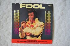 Elvis Fool/Steamroller Blues 74-0910 45 Picture Sleeve Only
