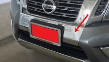 CHROME FRONT BUMPER COVER FOR NISSAN NAVARA/NP300 2015 INSTALL WITH 3M TAPE