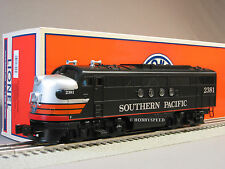 LIONEL SOUTHERN PACIFIC BLACK WIDOW FT DIESEL RAILSOUNDS 6-30217 engine 6-38253