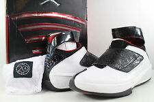 2005 Nike Air Jordan XX QS 20 Quick Strike White Black Red Size 9 Vintage OG