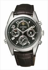CITIZEN CAMPANOLA Men's watch Moon phase Minute repeater Chronograph CTR57-1091