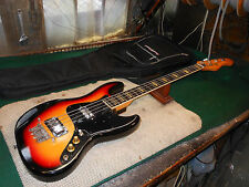 Hondo II Professional Jazz 4-String Electric Bass Guitar 1970's 1980's Cool