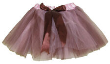 Pink Brown 5 Layer Two-Toned Dance Tutu