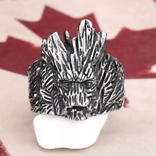 Stainless Steel Tree Man Ring Size V